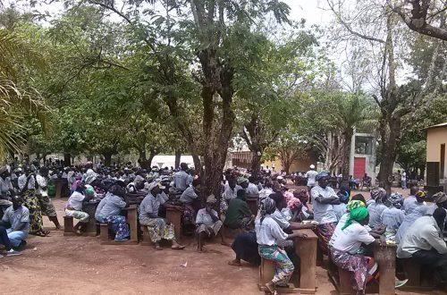 Article : Sotouboua: la Croix-Rouge Togolaise – Région Centrale contribue à l'atteinte des ODD