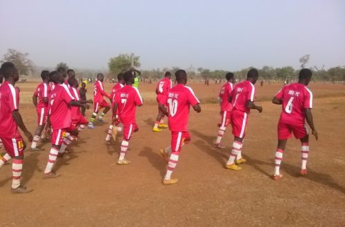 Article : DEFI F.C a abrité le gala de football de l'Union des Équipes de Football de Sotouboua