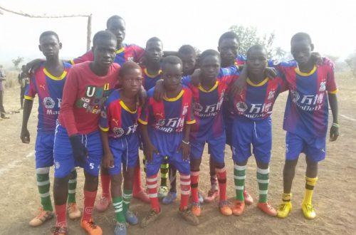 Article : Anniversaire Defi Reference-Togo: Les minimes de Defi Fc ont agrementé la fête!