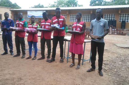 Article : Croix-Rouge Togolaise/ Sotouboua: Les Clubs 25 officiellement installés