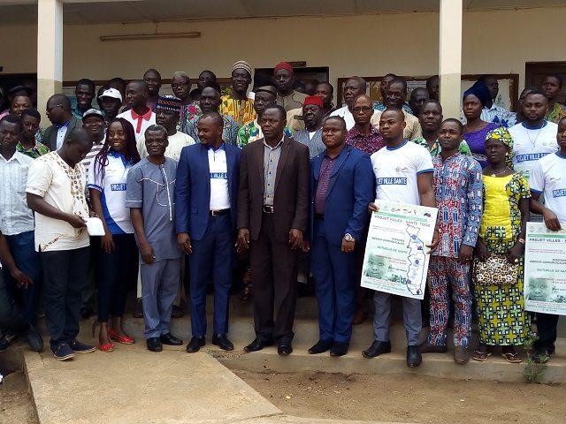 Projet ville santé Togo, Sotouboua parmi les villes cibles de Aimes Afrique
