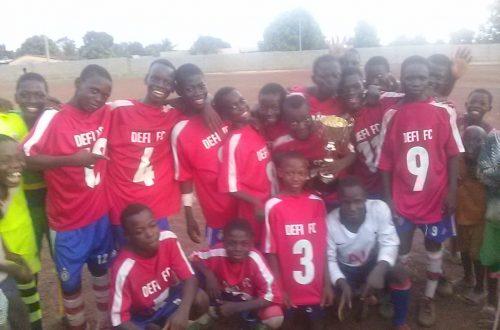 Article : Encore un trophée pour les Jokers Babies de Defi FC de Sotouboua