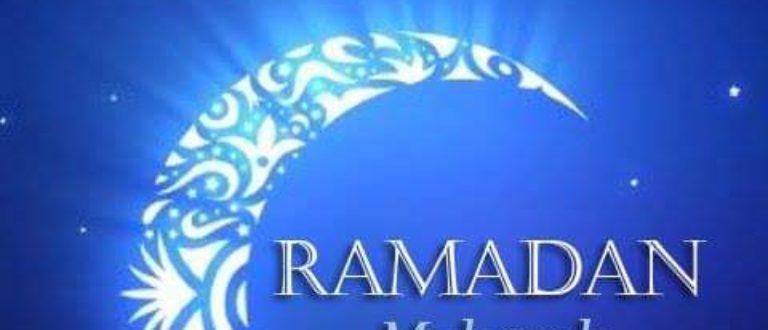 Article : Bon début de Ramadan à tous