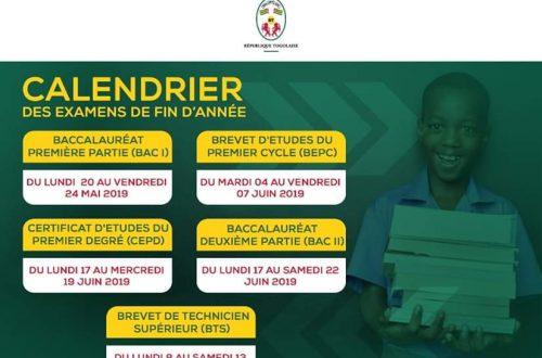 Article : Éducation/ Le Gouvernement togolais: «Bonne chance à tous les candidats!»