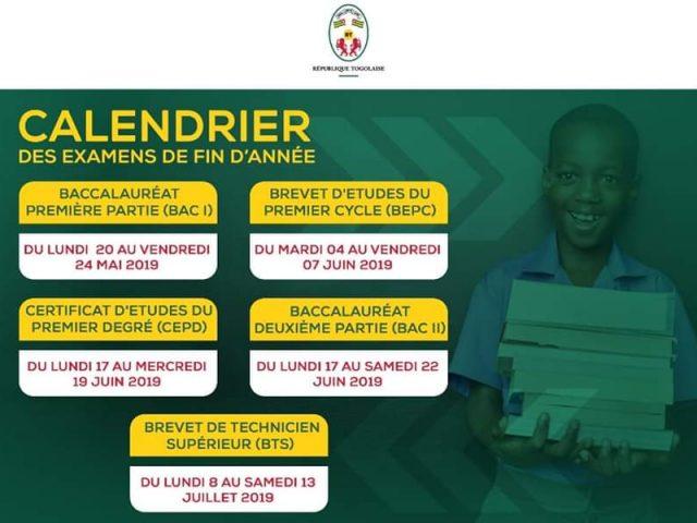 Éducation/ Le Gouvernement togolais: «Bonne chance à tous les candidats!»