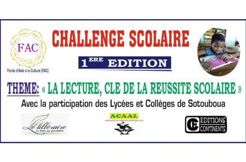 Article : Sotouboua: Un challenge à l'adresse des scolaires du secondaire