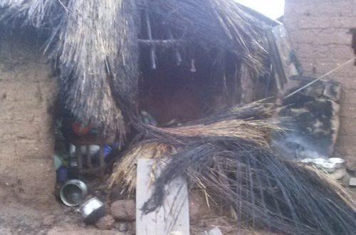 Article : Sotouboua: Cette maudite pluie a fait des dégâts