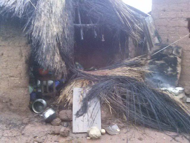 Sotouboua: Cette maudite pluie a fait des dégâts