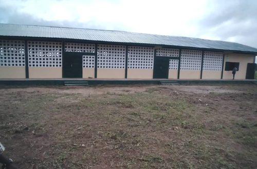 Article : Les écoliers de l'EPP de Konkondè à l'abris des intempéries