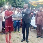 Titigbe Teterou, le dignitaire Boris Djabugou a rehaussé la fête des ignames avec un gala de football