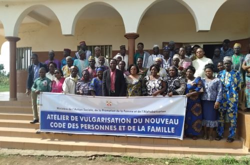 Article : Sotouboua, le nouveau code des personnes et del a famille vulgarisé