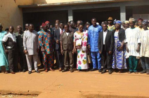 Article : Sotouboua: La Commune 1 tient sa première session ordinaire