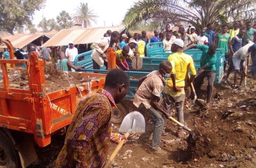 Article : Insalubrité à Sessaro Masada, Vheda mobilise la communauté pour le  déplacement du dépotoir du marché