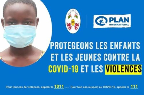 Article : Les  jeunes au cœur d'un plan de riposte contre la COVID-19
