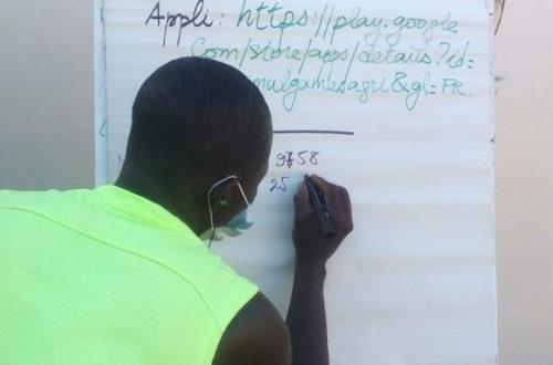 Article : Agro infos vulgarise l'application «Simulagri», les maraîchers de Sotouboua à l'honneur