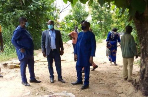 Article : Sotouboua/ La délégation du député Passoli Abélim en visite de chantiers à Sessaro et Titigbé