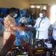 Article : Riposte contre le coronavirus : AIMES-AFRIQUE équipe Sotouboua de  matériels de protection