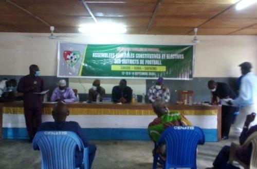 Article : District de Football de Sotouboua : la liste Ball à Terre se retrouve pour 4 ans au sommet de la préfecture